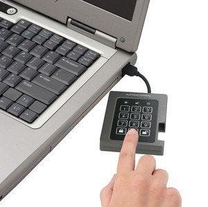 padlock ssd in use