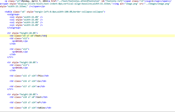 pages epub messy code