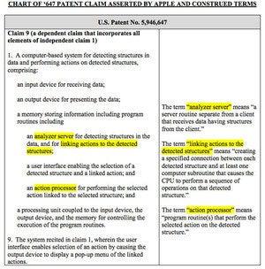 patent language