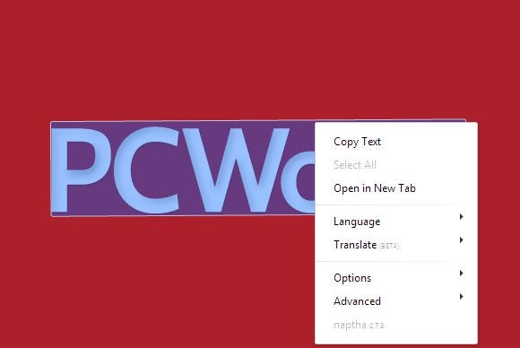 pcworld logo project naptha