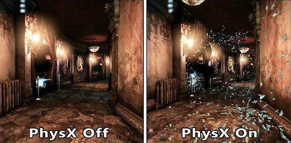 Nvidia PhysX technology