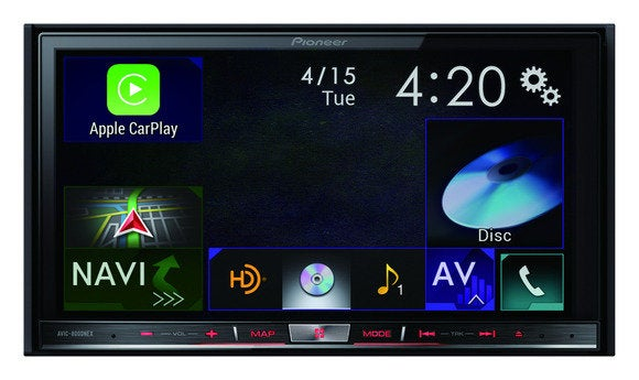 pioneer avic 8000nex main carplay 300dpi 5in april 2014