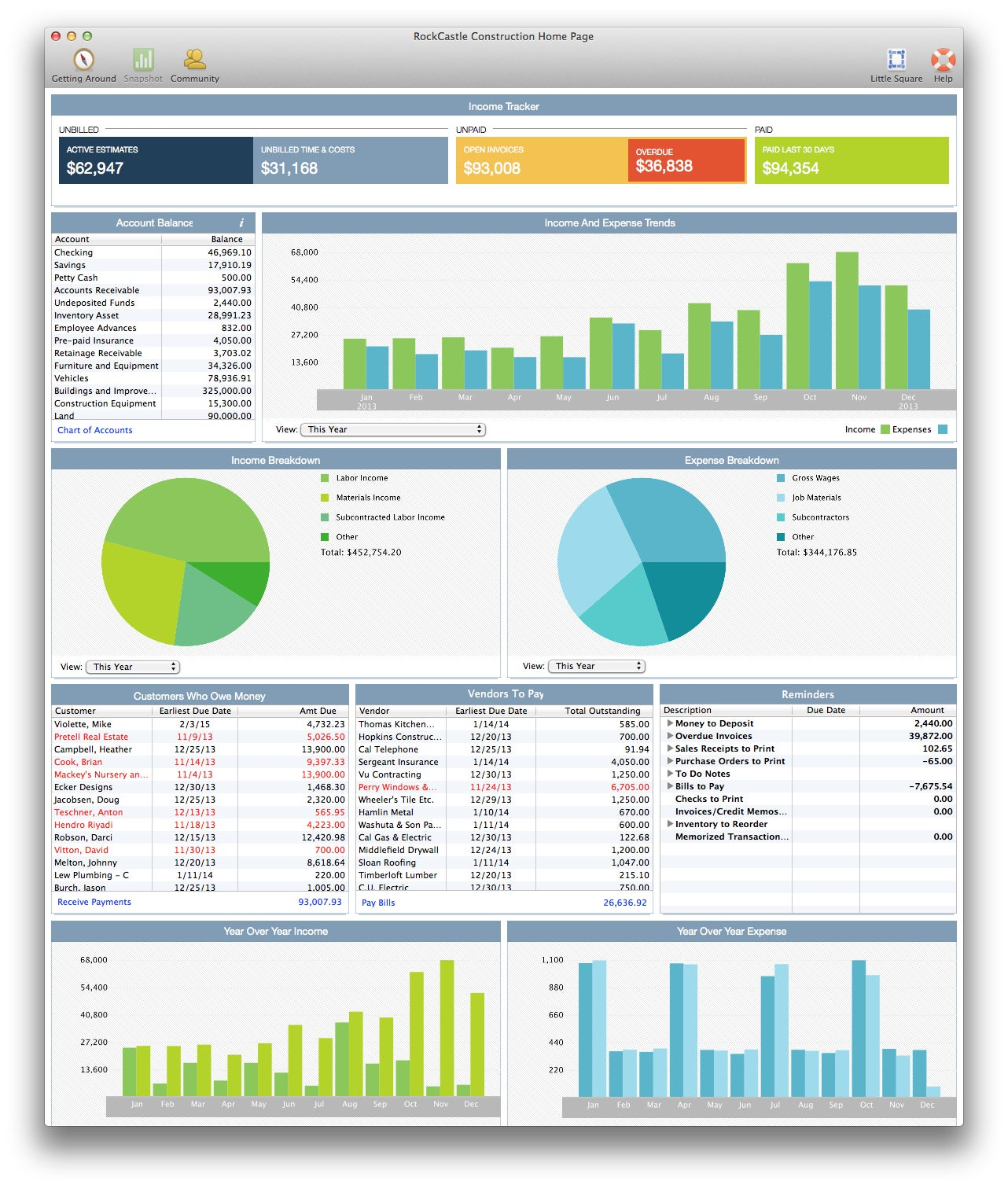 it offers no cross platform capabilities  QuickBooks for Mac 2014    Quickbooks 2014 Interface