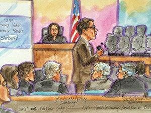 samsung court sketch