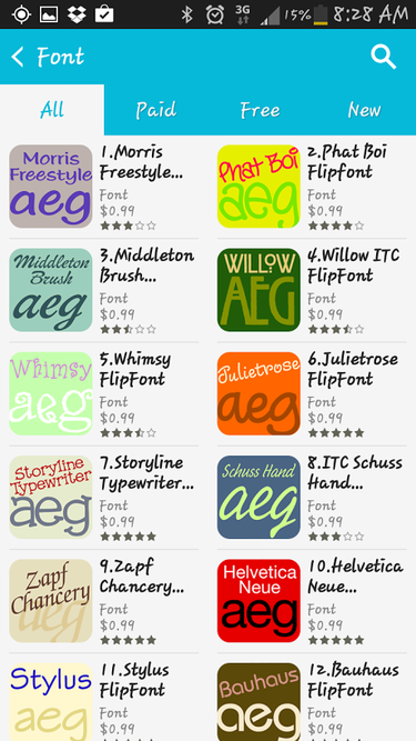 How to customize your Android system fonts | Greenbot