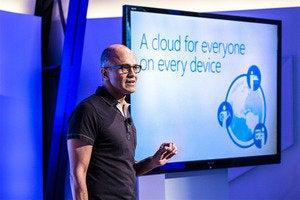 Satya Nadella Office iPad launch