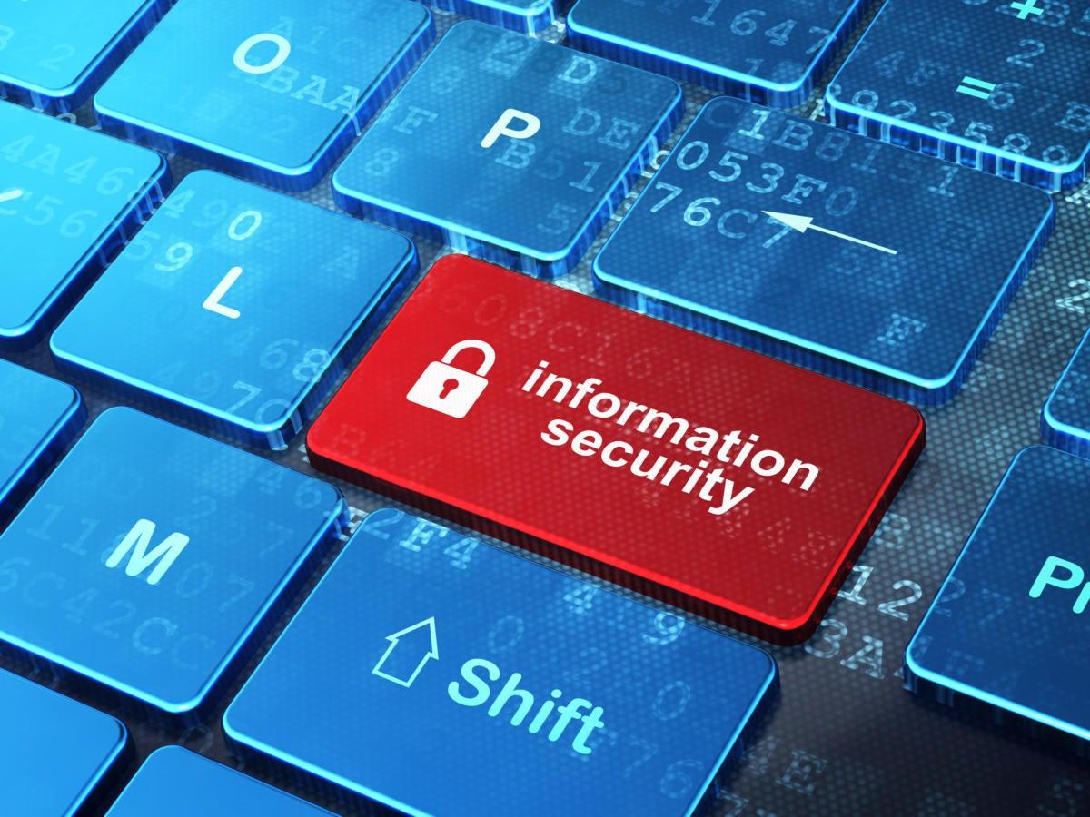 information security keyboard