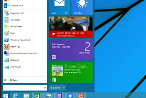 start button windows 8