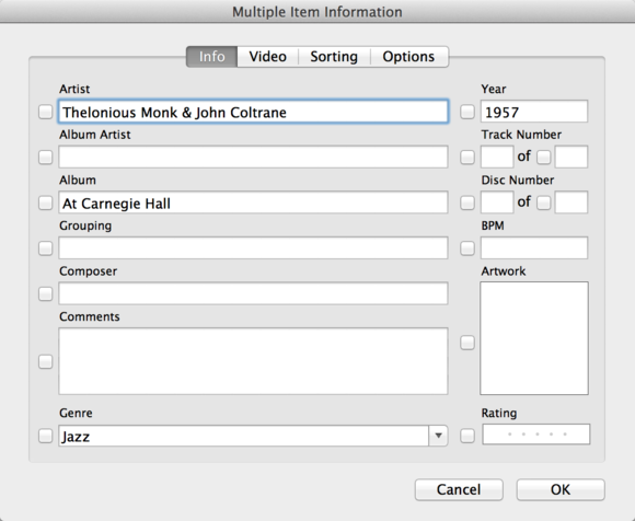 The right way to tag everything in iTunes | Macworld