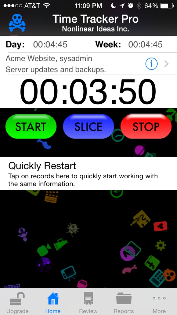 Iphone App To Track Time Spent On Projects