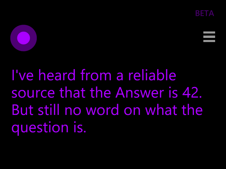 Ask cortana anything snarky answers to 59 burning questions