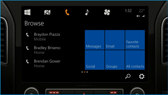 windows for the car demo frequent contacts