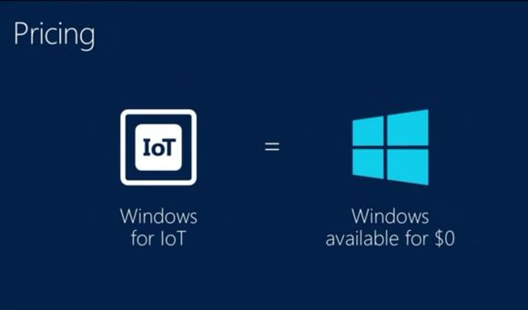 windows free iot