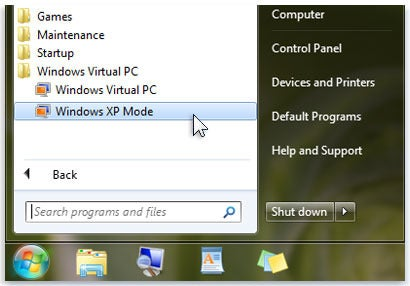 Compatibility with security how to run windows xp in a virtual windows xp mode ccuart Image collections