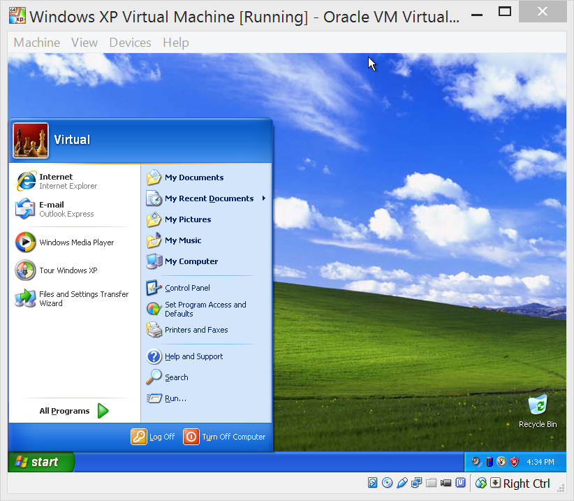 Compatibility with security: How to run Windows XP in a