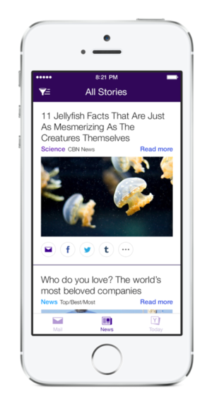 yahoo mail app april 2014
