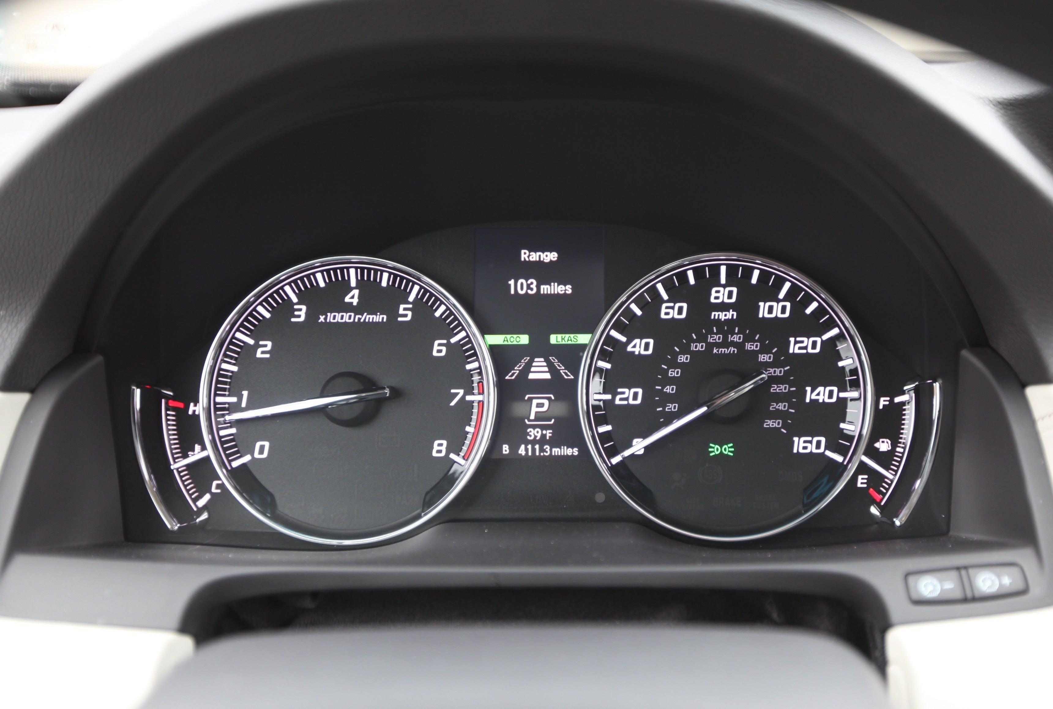 Gimme A Brake The Acura RLX Advance Handles Stopandgo - Used acura rlx