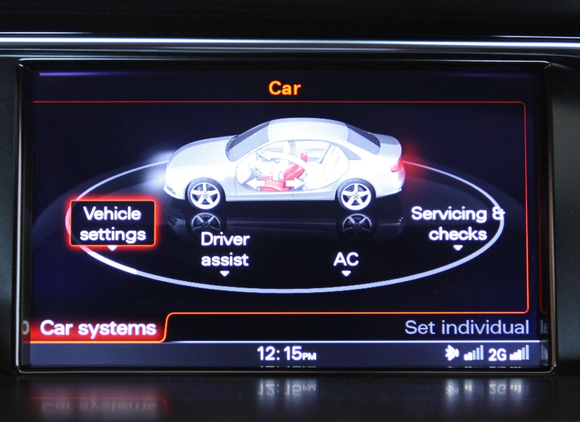 2014 Audi S4 Homelink