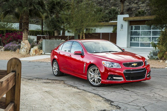 2014 Chevy SS Perpendicular Parking Test | PCWorld