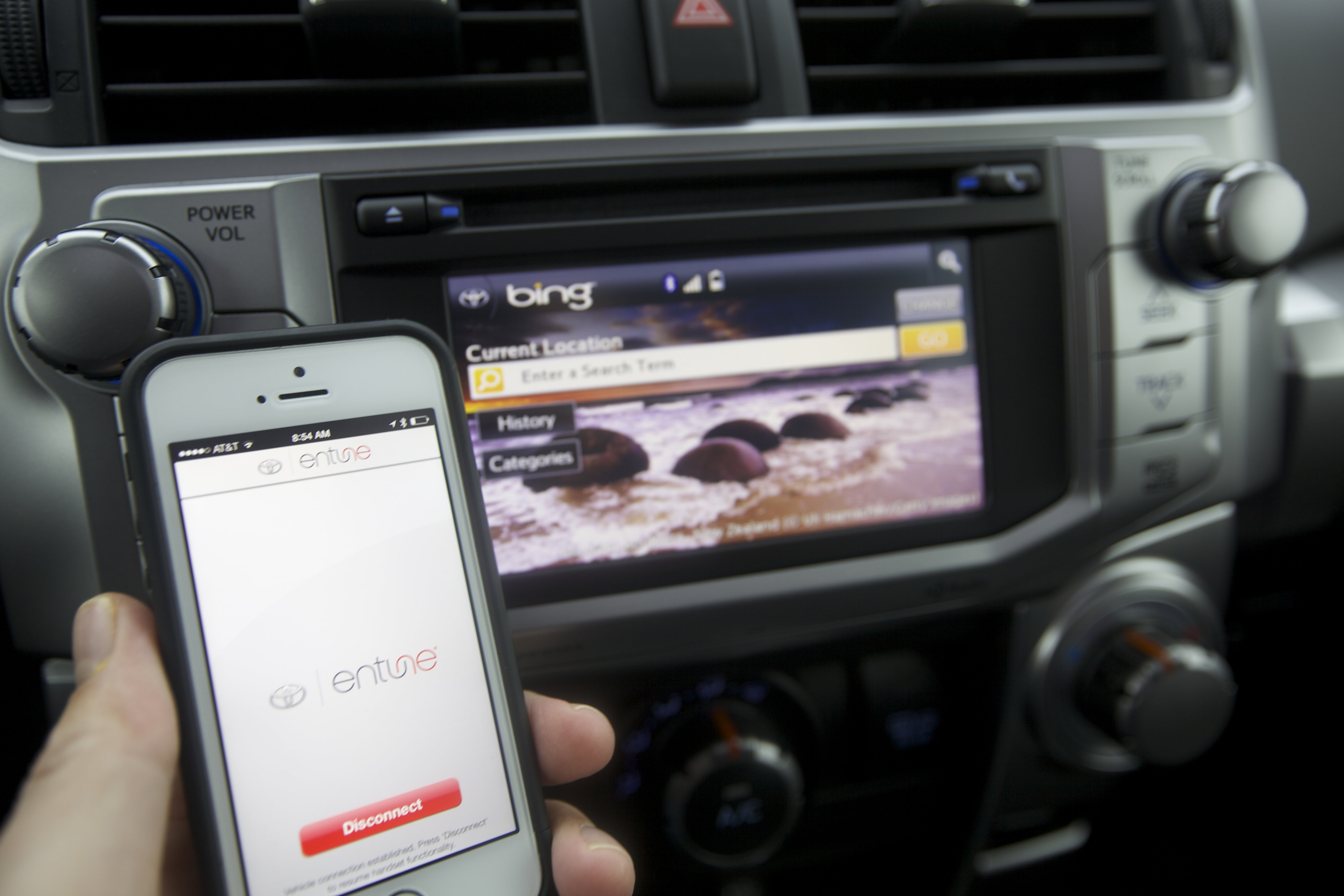 Toyota entune and vw car net do things android auto and apple carplay can t touch pcworld
