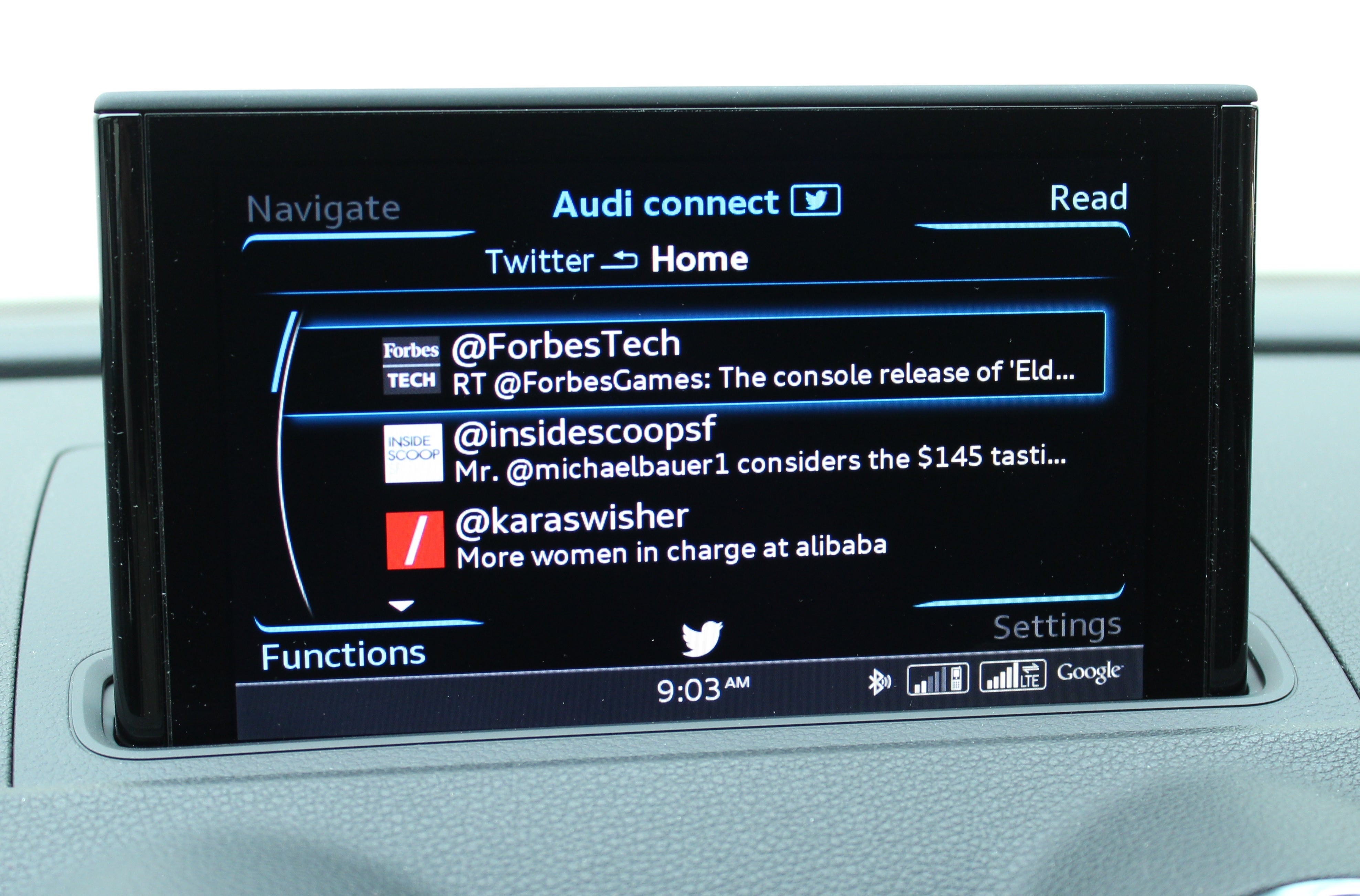 2015 Audi A3 Review Of 4g Lte Mmi And Audi Connect Services