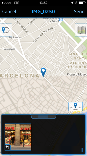 2015 audi a3 mmi connect app photo location
