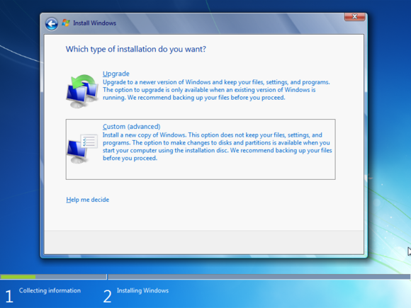 5 reinstall windows 7