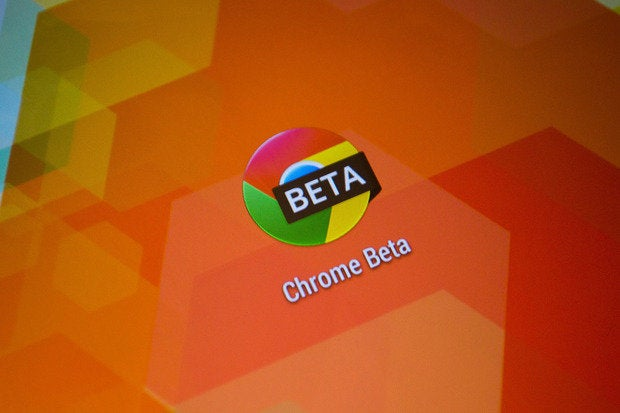 android chrome beta
