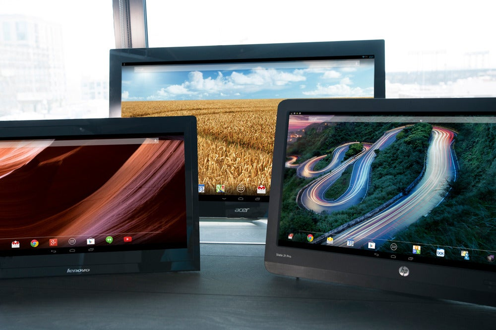 Acer, HP, and Lenovo each take a different path to bringing Android the desktop. Three all-in-one PCs reviewed | PCWorld