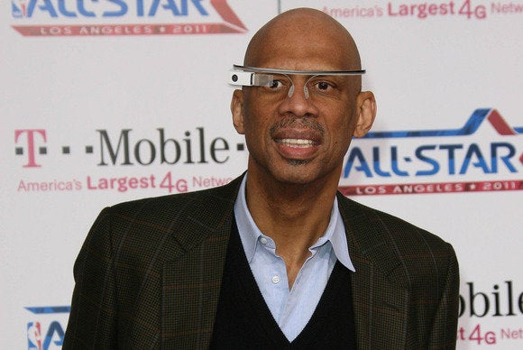 basketball kareem google glass