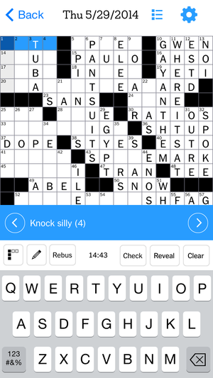 Staff Picks Nytimes Crossword App Gets Its Appeal Across And Down