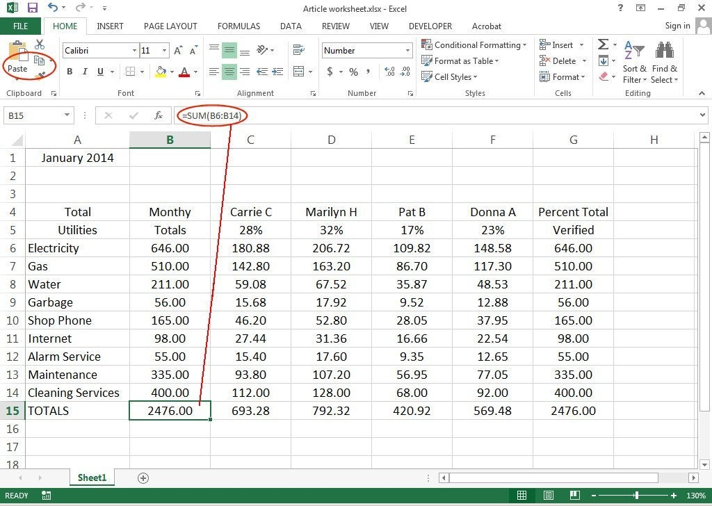 How to create 3d worksheets in excel 2013 pcworld add and copy formulas to worksheet ibookread ePUb