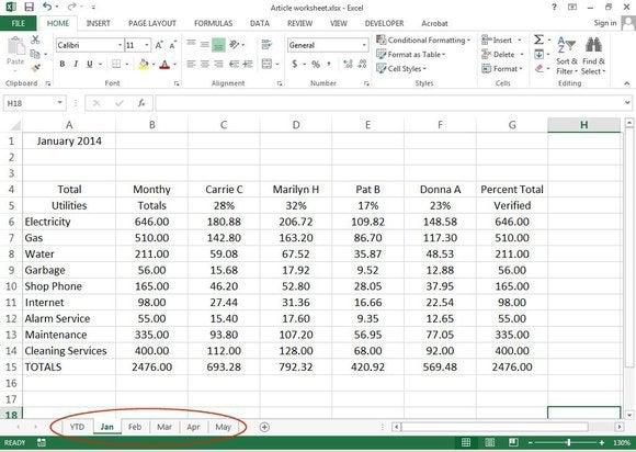 f5 rename spreadsheets