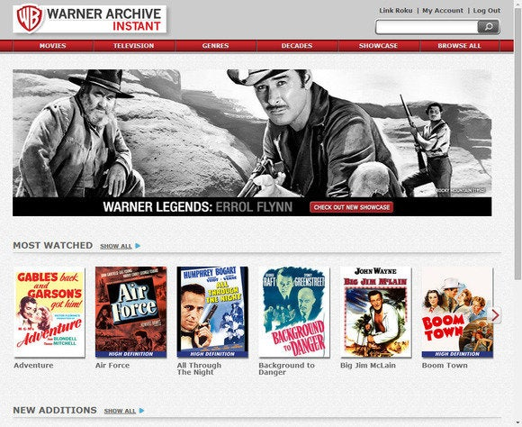 film streaming warner archive