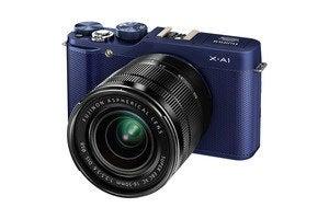 fuji x a1 front blue
