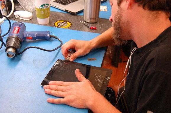 glass pry ipad repair