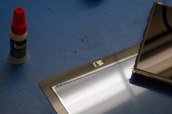 glue camera ipad repair