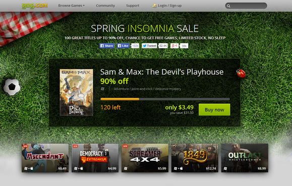 gog.com spring insomnia sale