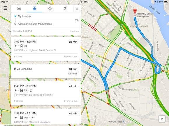 google maps primary