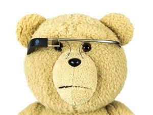 google glass bear