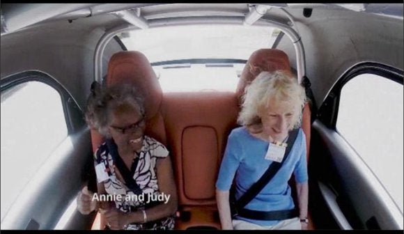 google self driving car annie and judy may 27 2014