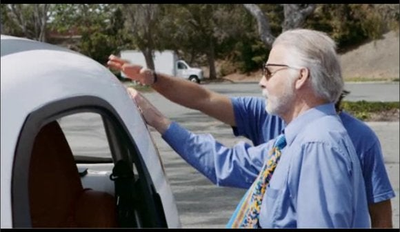 google self driving car blind man 2 may 27 2014