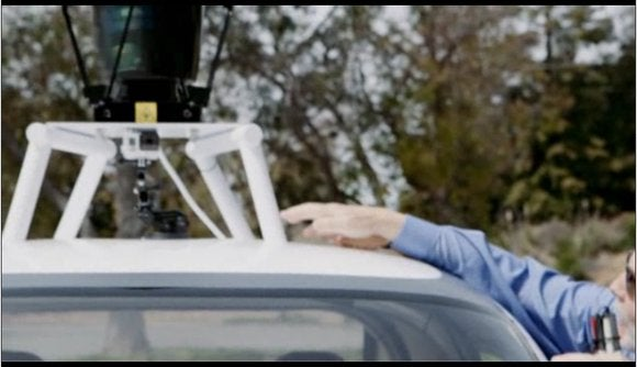 google self driving car blind man 3 lidar sensors may 27 2014