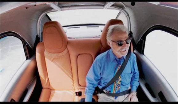 google self driving car blind man may 27 2014