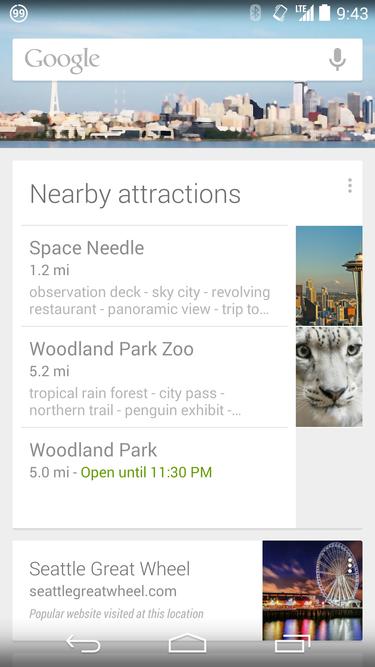 googlenow nearby