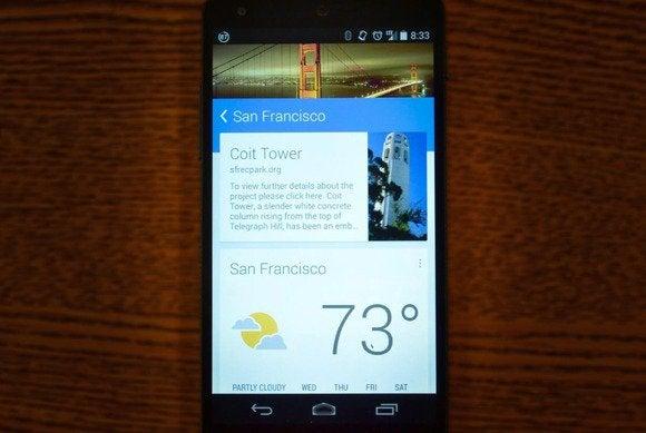 googlenow travel primary