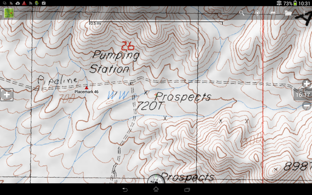 Android Topographic Map App.Turn Your Android Device Into The Ultimate Gps Back Country