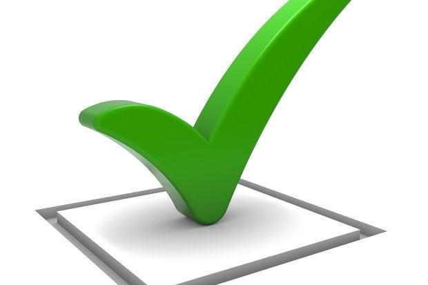 green check mark 101039329