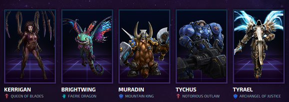 heroesofthestorm choose your hero