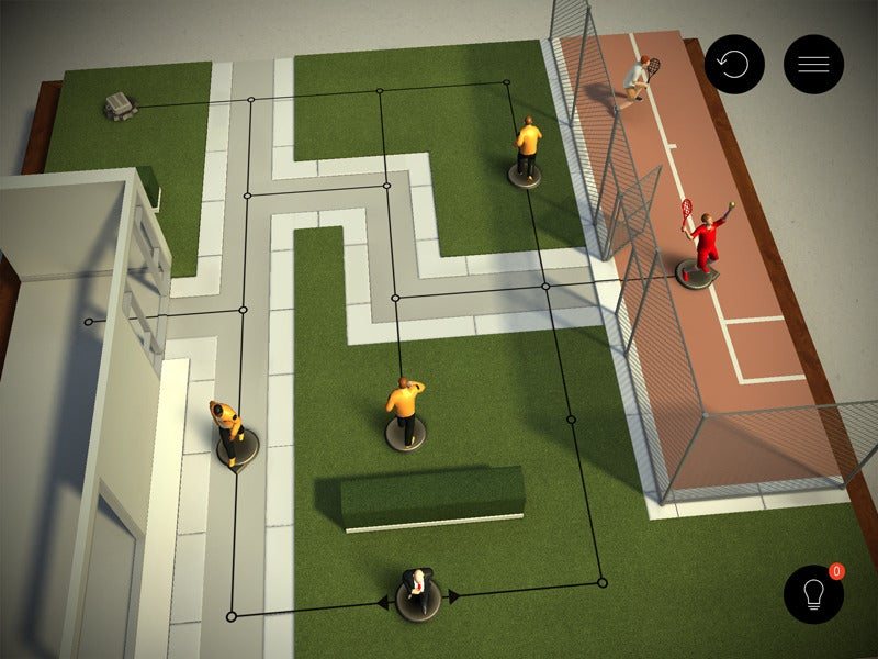 Hitman Go review: Ultraviolent console shooter becomes surreally restrained iPad puzzler